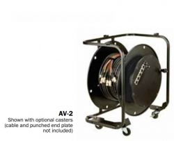 Hannay Reels AV-2* Portable, Stackable With Optional Handle & Supplied With Caster. Suitable For All Cable