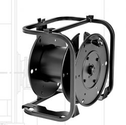 Hannay Reels AVD-1 Portable, Stackable With Optional Caster Suitable For All Cable