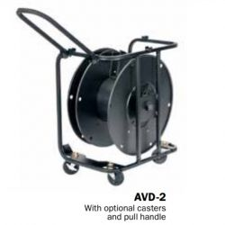 Hannay Reels AVD-2* Portable, Stackable With Optional Handle & Supplied With Caster. Suitable For All Cable