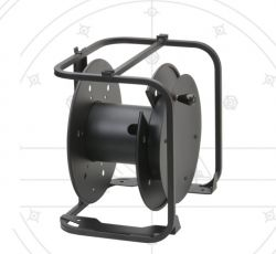 Hannay Reels AVD-3 Portable, Stackable With Optional Handle & Supplied With Caster. Suitable For All Cable