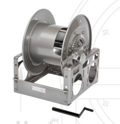 Hannay Reels C18-30-31 Manual Hand Crank Rewind Storage Reels for Cable, Hose, Rope & Wire