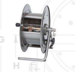 Hannay Reels GCR 10-17-19 Utility Grounding Manual Hand Crank Rewind Cable Reels