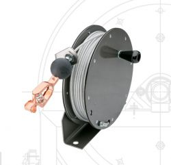 Hannay Reels MGR75-0 Static Grounding Manually Hand Crank Rewind Cable Reels (Supplied without Cable & Clamp)