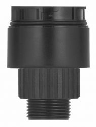 WERMA KombiSIGN 40 630.820.00 Modular Signal Tower Light - Classic Look, Adapter For Single Hole Mounting