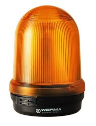 WERMA 829 Series 829.370.55 Monitored LED Permanent Beacon Light - 24V DC, Yellow Colour
