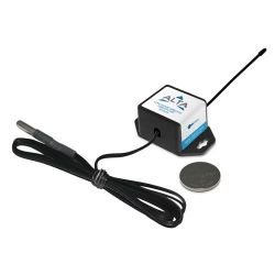 Monnit MNS2-8-W1-TS-ST-L50 ALTA Wireless Temperature Sensor with 50 Foot Probe - Coin Cell Powered