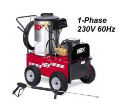 HOTSY 790SS 1.109-612.0 Hot Water Pressure Washer - 1-Phase 230V 60Hz Electric Driven, Oil Fired, 3 GPM, 2000 PSI, 4 HP