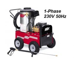 HOTSY 790SS 1.109-612.0-50Hz Hot Water Pressure Washer - 1-Phase 230V 50Hz Electric Driven, Oil Fired, 3 GPM, 2000 PSI, 4 HP