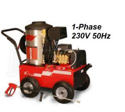 HOTSY 895SS 1.109-077.0-50Hz Hot Water Pressure Washer - 1-Phase 230V 50Hz Electric Driven, Oil Fired, 3.5 GPM, 3000 PSI, 8.2 HP