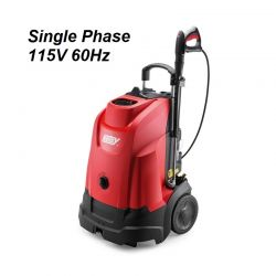 HOTSY Model 333 1.064-049.0 Hot Water Pressure Washer - 115V 1-Phase 60Hz Electric Driven, Oil Fired, 1.7 GPM, 1200 PSI, 2.3 HP