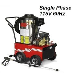 HOTSY Model 680SS 1.109-035.0 Hot Water Pressure Washer - 115V 1-Phase 60Hz Electric Driven, Oil Fired, 3 GPM, 1000 PSI, 2 HP