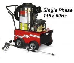 HOTSY Model 680SS 1.109-035.0-50Hz Hot Water Pressure Washer - 115V 1-Phase 50Hz Electric Driven, Oil Fired, 3 GPM, 1000 PSI, 2 HP