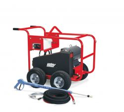 HOTSY BDE-505009B 1.107-085.0-50Hz Cold Water Pressure Washer - 3-Phase 230V 50HZ Electric Driven, 5 GPM, 5000 PSI, 20 HP